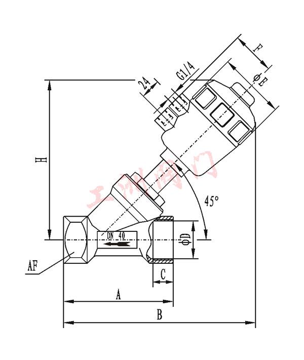 液压电磁阀工作原理 -工洲阀门台湾品质图片