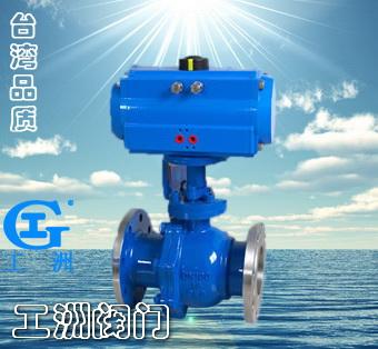 工洲牌污水排气阀主要用于截断或接通管路中的介质,亦可用用于流体的图片